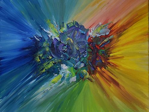"""A Burst of Life"" by Ann Clinton"