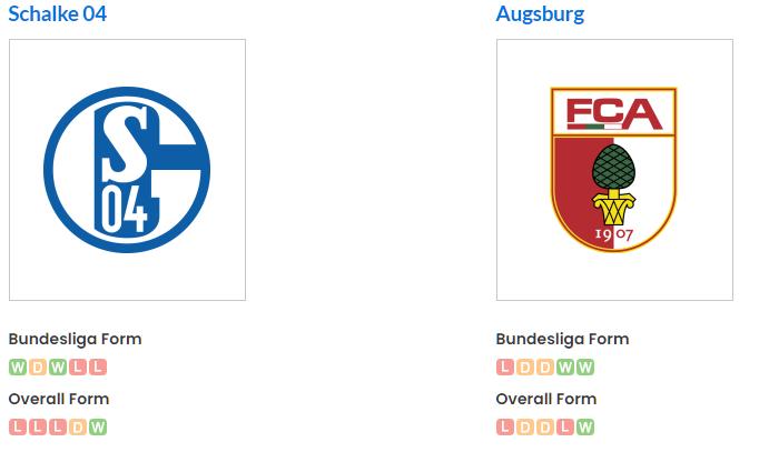 Augsburg vs Schalke 04 betika grand jackpot