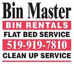 Bin Master Logo