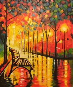 Autumn Rain #1 Painting