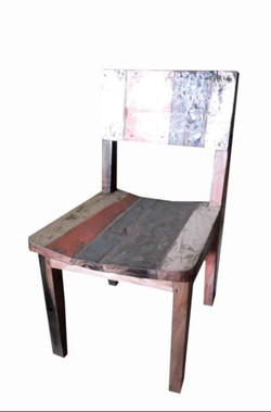 Boat Wood Dining Chair