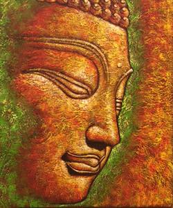 Buddha Texture #1 Painting