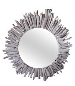 Irregular Round Mirror