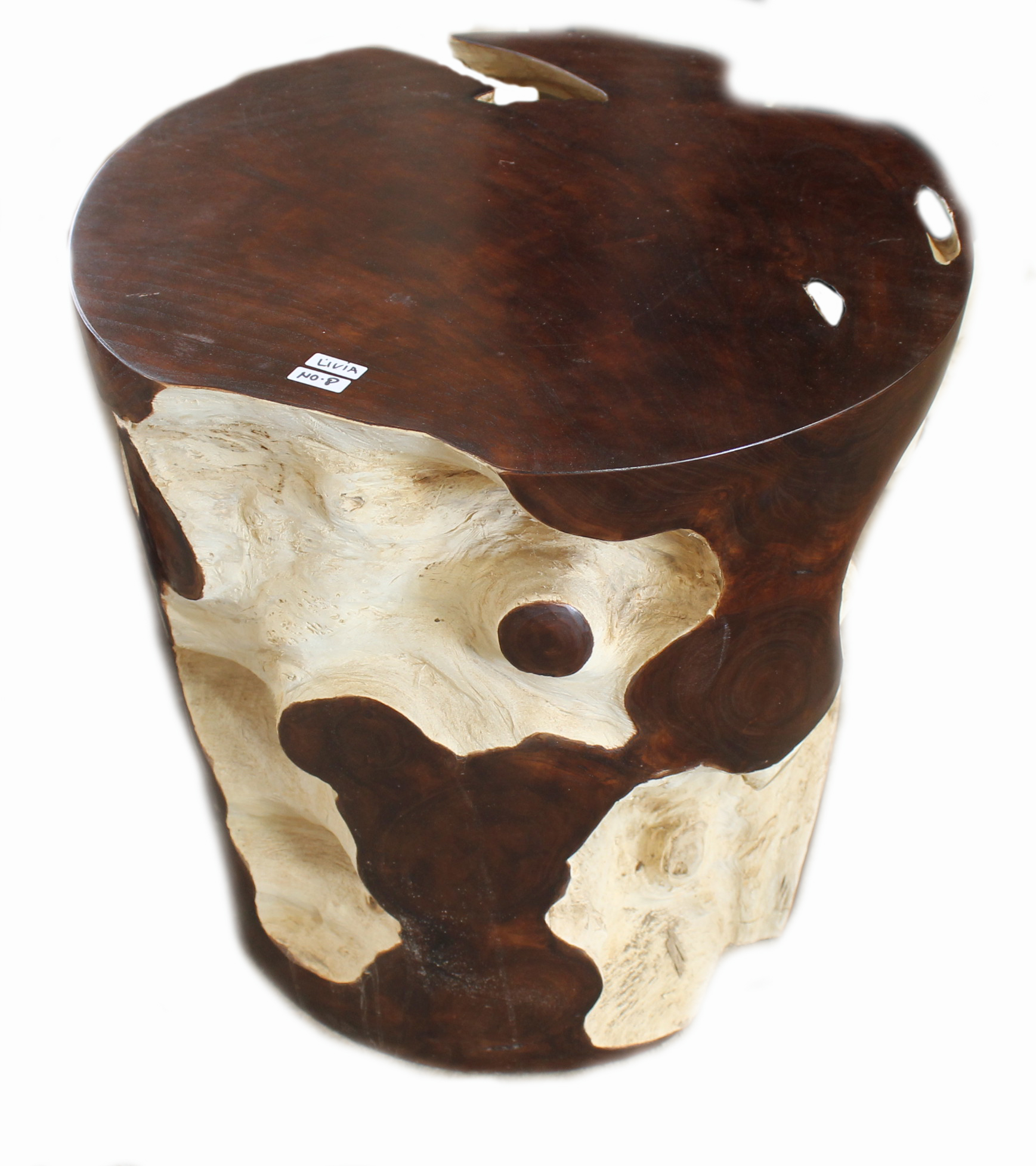 teak root stool revised