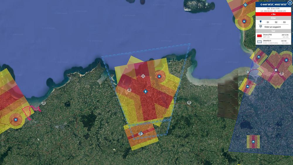 restrictions drone baie de St Malo