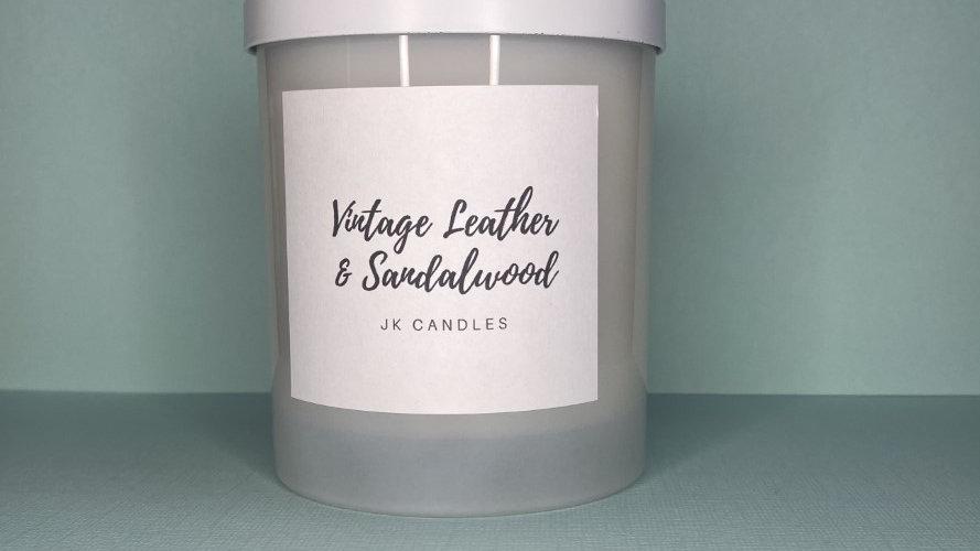 Vintage Leather & Sandalwood