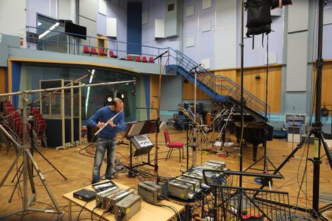 Recording Ariel Zuckermann