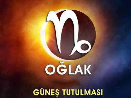 OĞLAK'TA GÜNEŞ TUTULMASI 6 OCAK 2019
