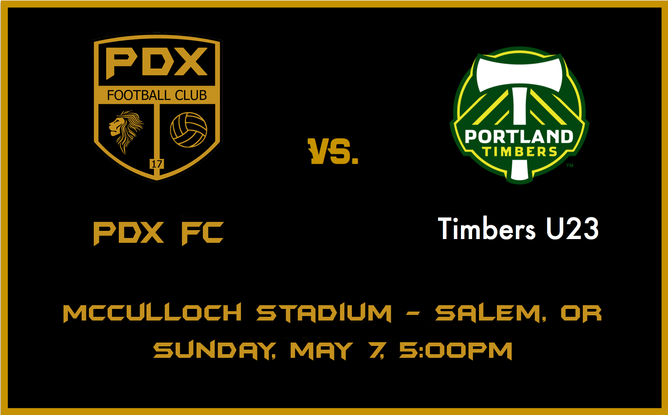 1st Exhibition match vs Portland Timbers U23