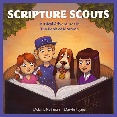 Cover of Scripture Scouts Book of Mormon CD