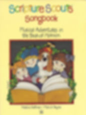 Cover of Scripture Scouts Book of Mormon Songbook