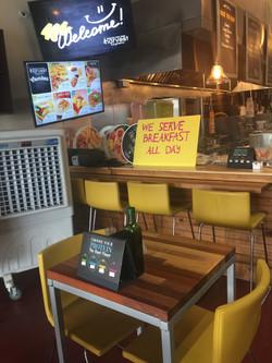 coolbox inside restaurant