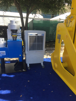 C-100 Cooling OTC booths