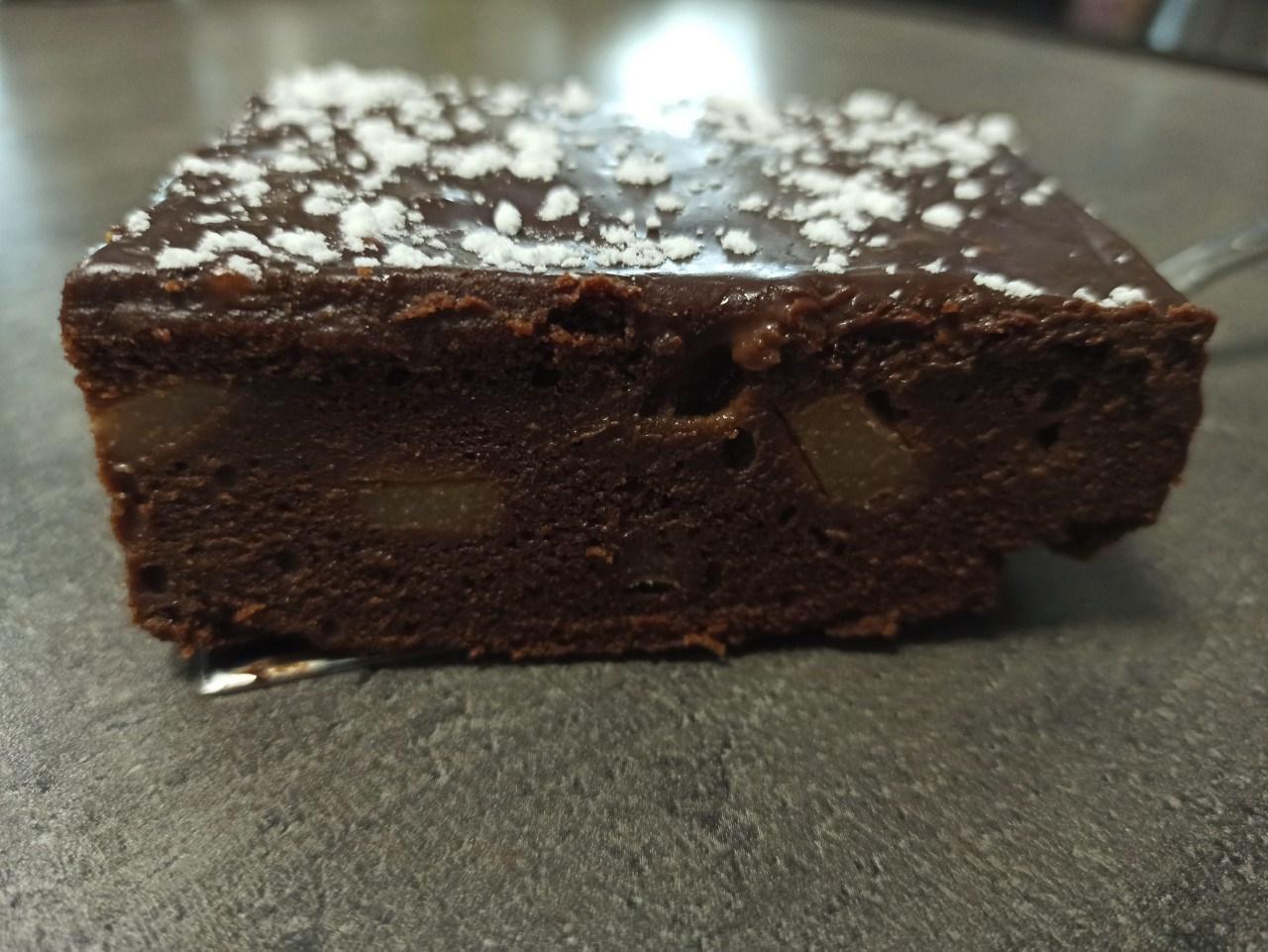 Gateau poire chocolat