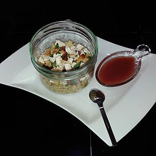 #saladesemoulesucresale_#vinaigrettecass