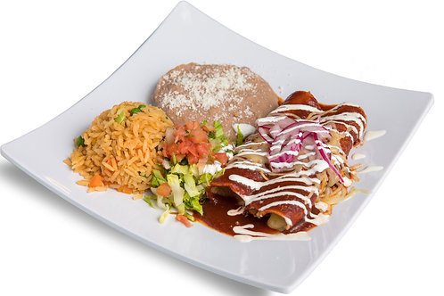 12 Jack Cheese Enchiladas