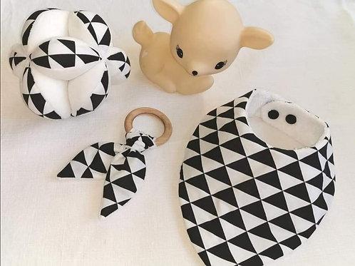 Box Noir & Blanc triangles