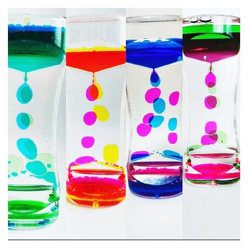 Sablier liquide 2 couleurs