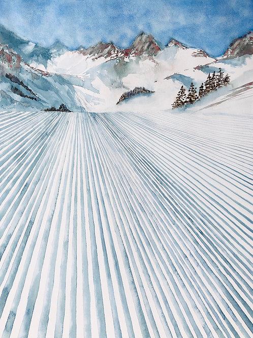 Invitation à skier