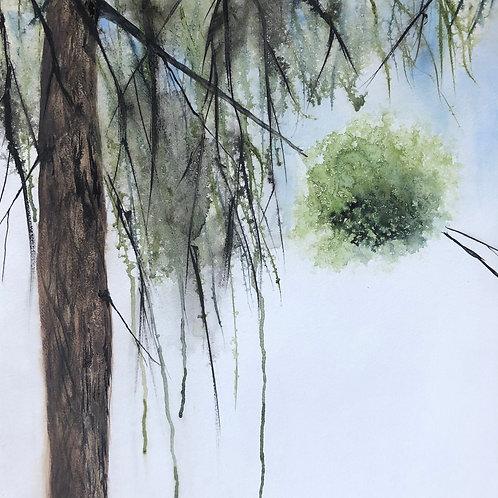 Boule de gui 42x55 cm