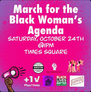 March for the Black Woman's Agenda