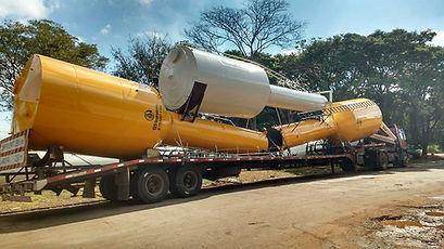 G5 Reservatório Metálico Tipo Taça em Goiânia e Belo Horizonte Minas Gerais