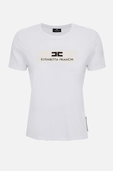 Elisabetta Franchi T-Shirt mit Logo