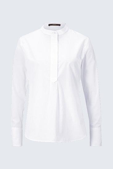 Windsor Woman Baumwoll-Bluse in Weiß