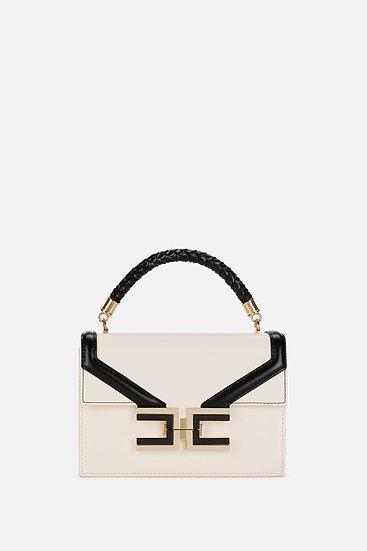 Elisabetta Franchi kleine Handtasche mit geflochtenem Henkel