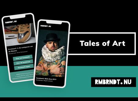 Verhalen achter het kunstwerk komen tot leven met Tales of Art