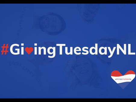 Het is vandaag Giving Tuesday 2019!