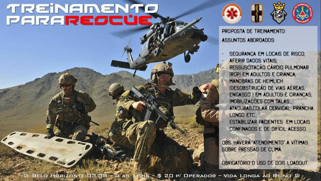 TTP - Treinamento Pararescue