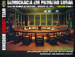 Votação Interna - Colegiado