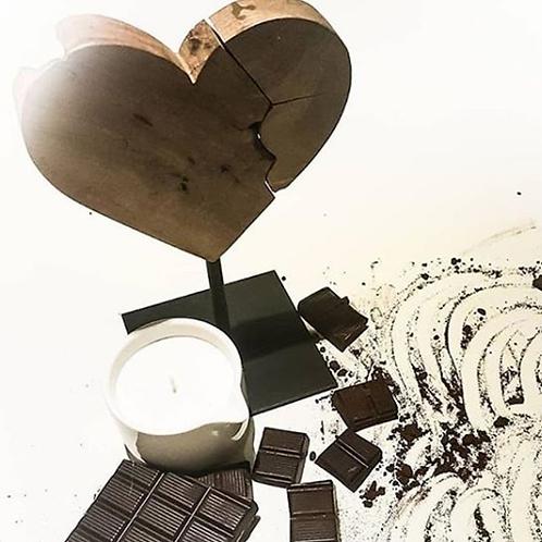 Candela da massaggio TRIBE al cioccolato, Rilassante e provocante