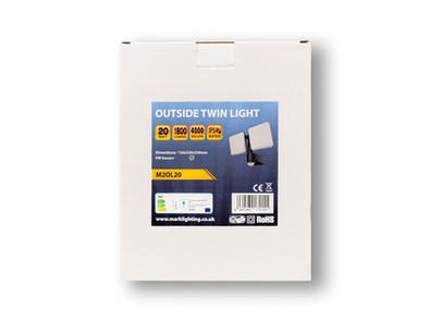 Twin Outside Light Packaging