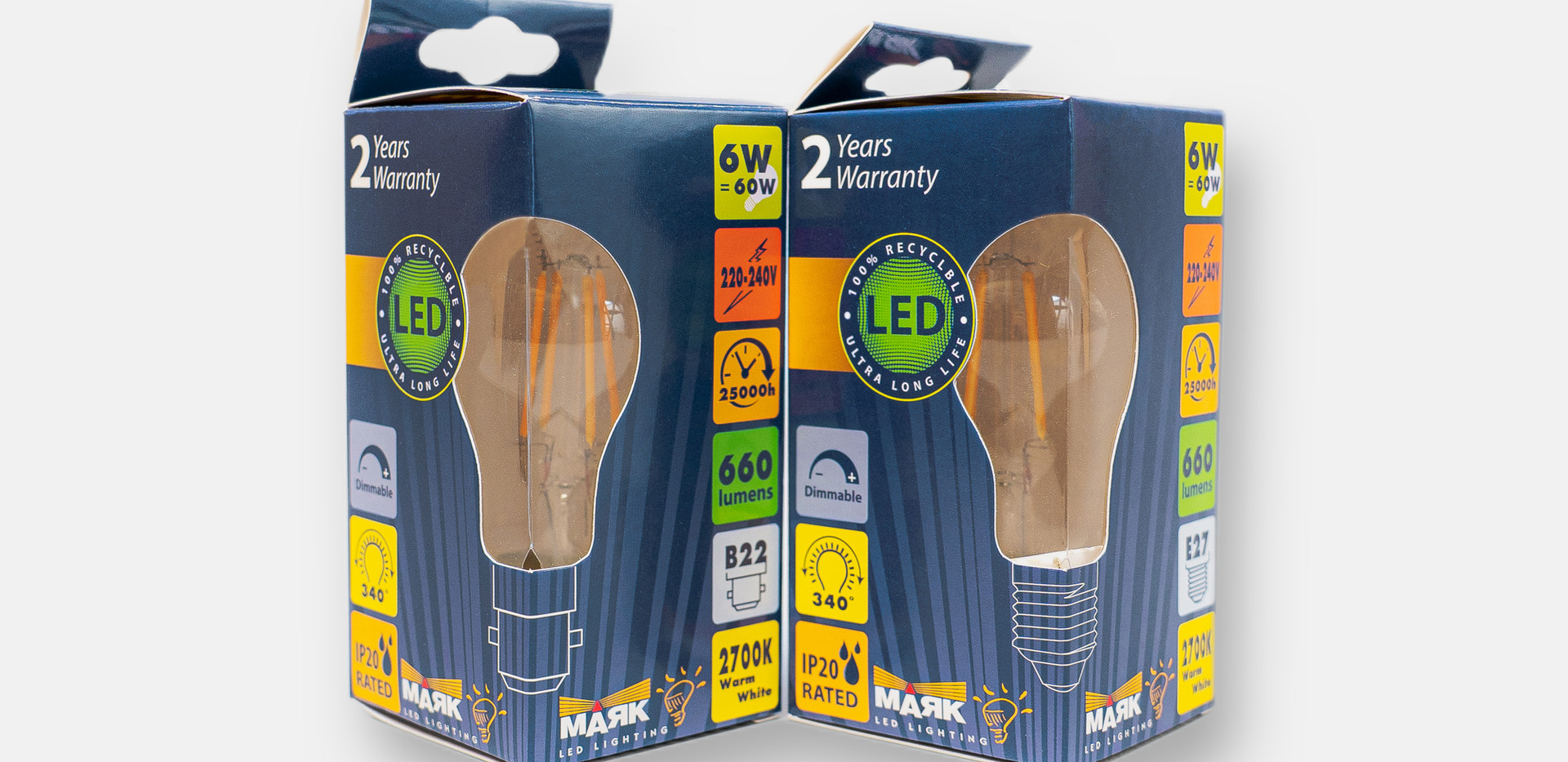 Filament GLS Packaging