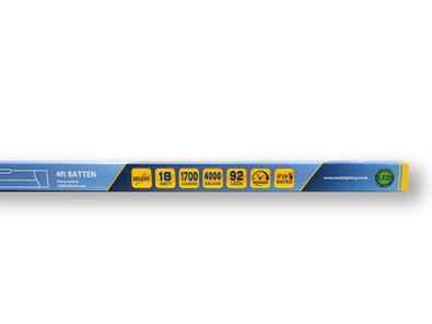 Slim Batten 4ft - 4000K Packaging