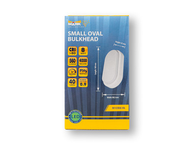 Small Oval Bulkhead Packaging