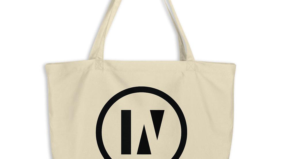 IN2U - Large organic tote bag