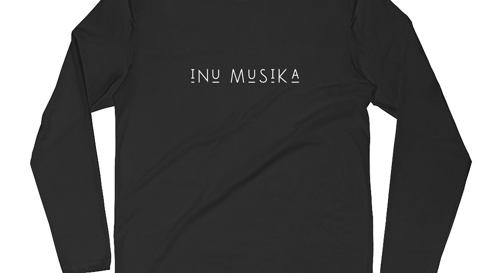 INU Musika - Mens - Long Sleeve Fitted Crew