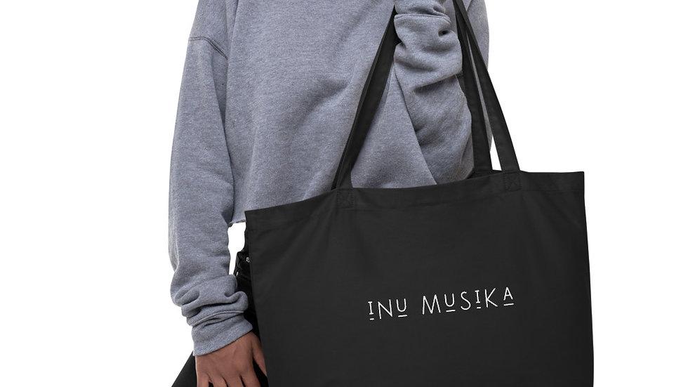 INU Musika - Large organic tote bag