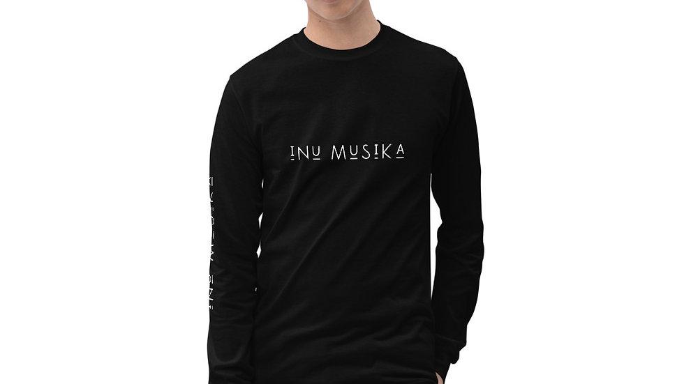 INU Musika - Mens Long Sleeve Shirt