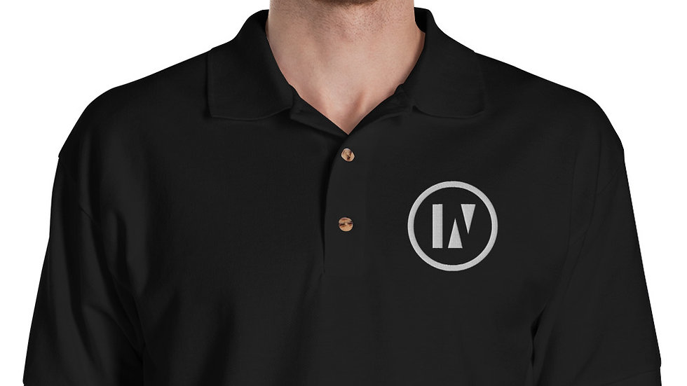 INU - Embroidered Polo Shirt