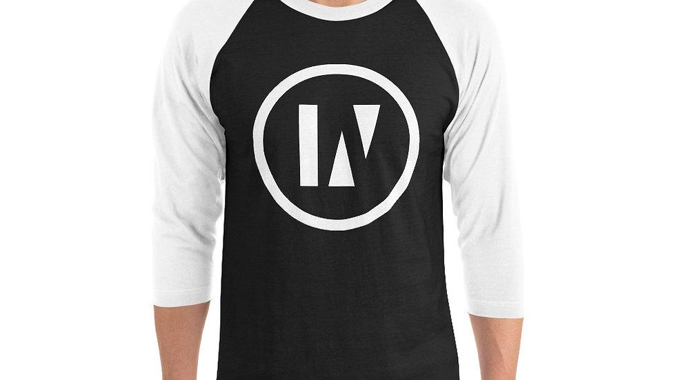 INU - Unisex 3/4 sleeve raglan shirt