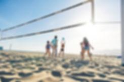 Beach-Volleyball  beim Firmenincentive
