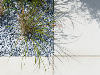 grass and gravel