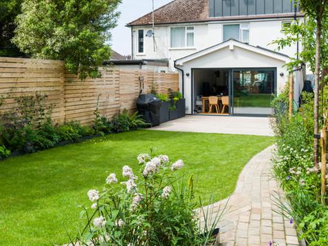 Graceful family garden