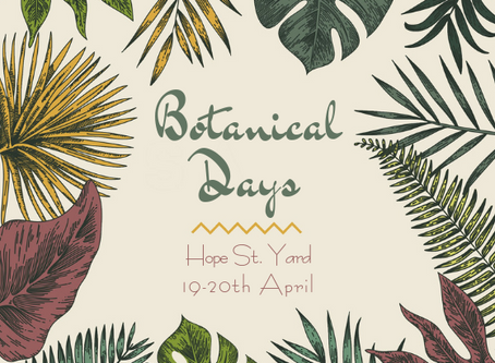 Botanical Pop Up Event