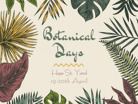 Botanical Pop Up Event