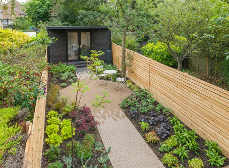How do you set a brief for a garden designer?